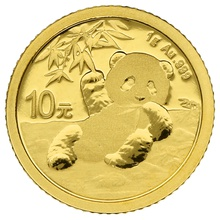 2020 1g Gold Chinese Panda Coin