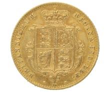 1864 Half Sovereign