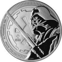 2018 Star Wars 1oz Silver Darth Vader Coin