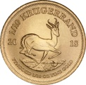 2018 Tenth Ounce Krugerrand Gold Coin