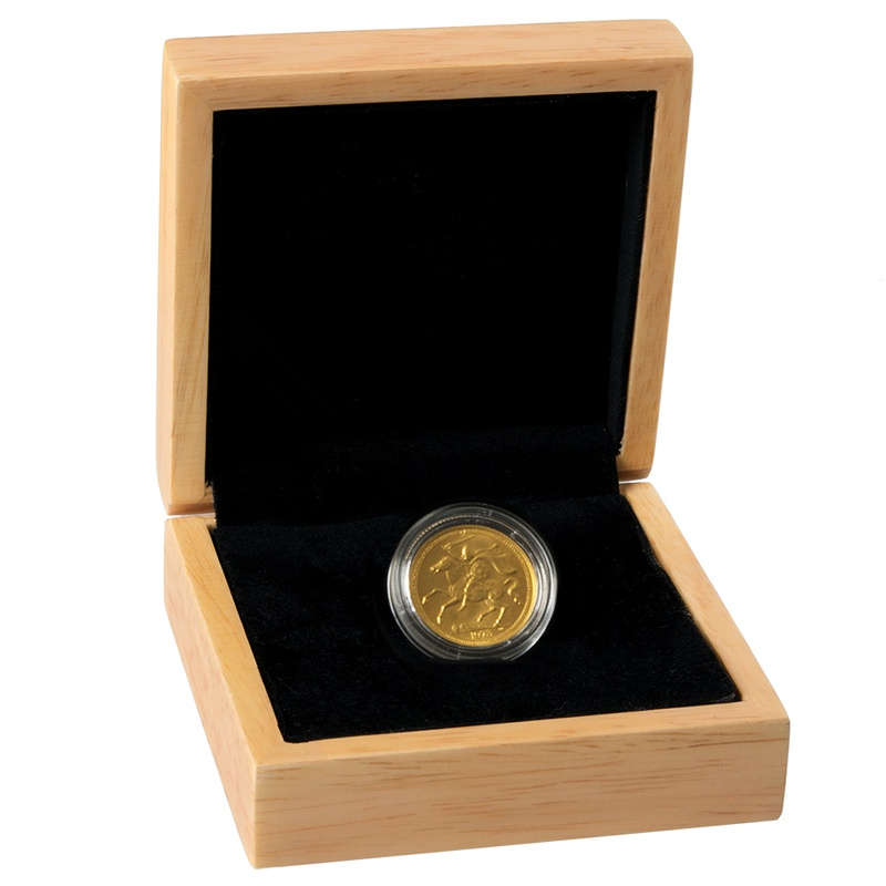 Isle Of Man Sovereign Gift Boxed