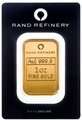 Rand Refinery 1oz Gold Bar Minted