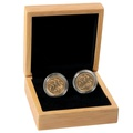 Two 2020 Sovereign Gold Coins Gift Boxed