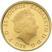 2019 1/4oz Quarter Ounce Proof Falcon Gold Coin Queen's Beasts