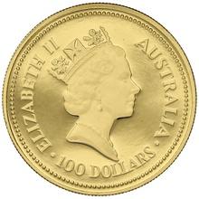 1988 1oz Gold Proof Australian Nugget