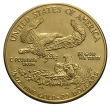 1990 Half Ounce Eagle Gold Coin MCMXC