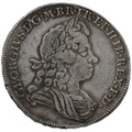 1715 George I Silver Halfcrown