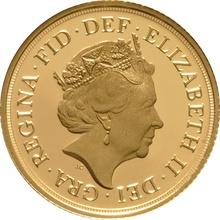 2015 Gold Sovereign - Elizabeth II Fifth Head Proof