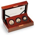 2016 Gold Proof Sovereign Three Coin Set - Butler effigy Boxed