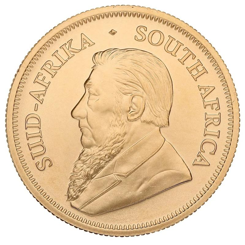 2021 Half Ounce Krugerrand Gold Coin