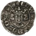 1307-27 Edward II Hammered Silver Penny Bury St Edmunds
