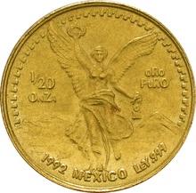 Twentieth Ounce Libertad Gold Coin