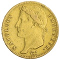 1815 20 French Francs - Napoleon (I) Laureate Head - A