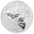 2020 1oz Perth Mint Year of the Mouse Silver Coin