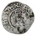 1473-7 Edward IV Hammered Silver Halfpenny Second Reign