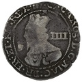 "1646 Charles I Silver Groat ""Bridgenorth on Severn"" mint RARE"