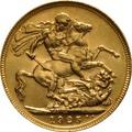 1925 Gold Sovereign - King George V - S