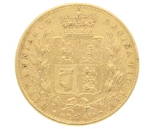 1863 Gold Sovereign