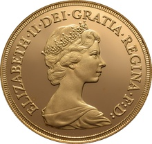 1980 £2 Two Pound Proof Gold Coin (Double Sovereign)