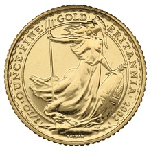 2002 Tenth Ounce Gold Britannia