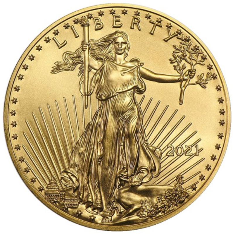 2021 1oz American Eagle Gold Coin