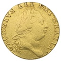 1787 George III Gold Guinea - Very Good