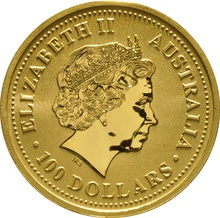 1999 1oz Gold Australian Nugget