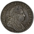 1723 George I Silver Shilling SCC - Very Fine