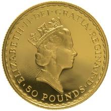 1995 Half Ounce Proof Britannia Gold Coin