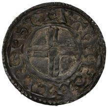 1016-1035 Cnut Hammered Silver Penny Short cross type Lincoln Svertingr