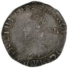 1631-2 Charles I Silver Shilling mm Rose