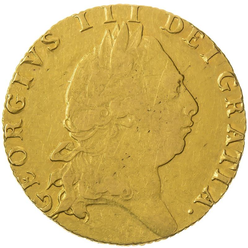 1793 George III Guinea Gold Coin
