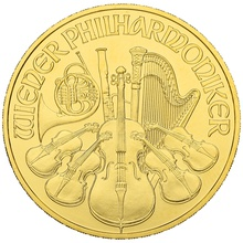 2020 1oz Austrian Gold Philharmonic Coin