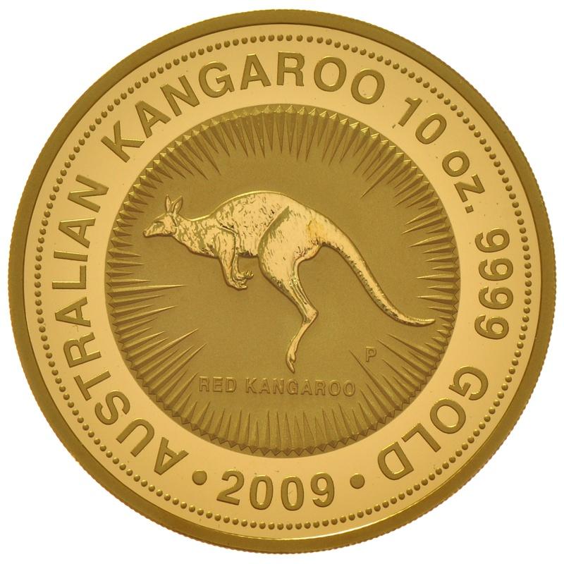2009 10oz Nugget Gold Coin