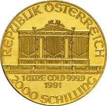 1991 1oz Austrian Gold Philharmonic Coin