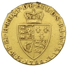 1788 George III Gold Guinea -Very Good