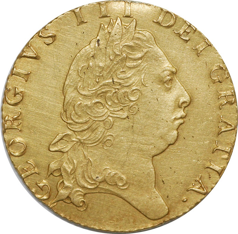1798 George III Gold Guinea Extremely Fine
