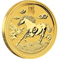 2014 Perth Mint Half Ounce Year of the Horse Gold Coin