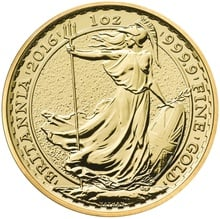 1oz Gold Britannia Best Value 24ct
