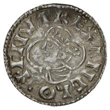 1016-1035 Cnut Hammered Silver Penny Quatrefoil type Dover Goodman