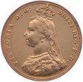1888 Gold Half Sovereign