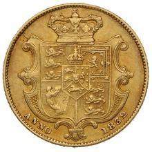 1832 Gold Sovereign - William IV