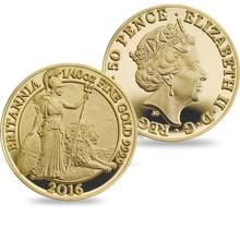2016 Proof Britannia Gold 6-Coin Set Boxed