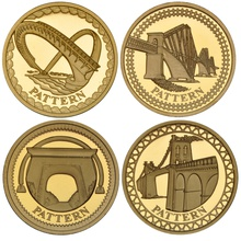 £1 One Pound Proof Gold Coin - Pattern
