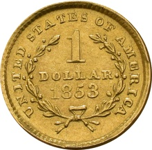 American Gold $1 Liberty Head 13mm