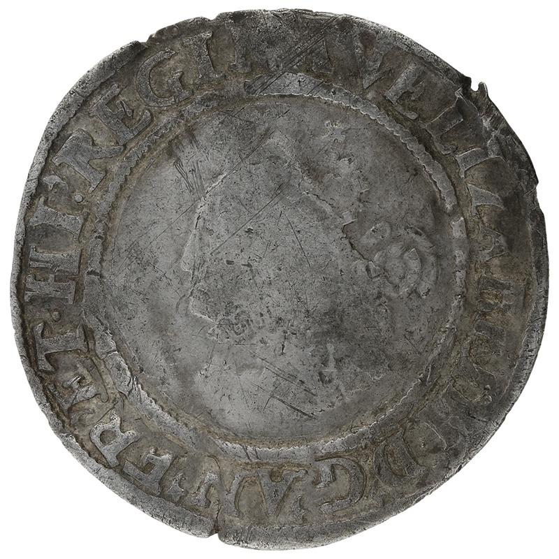1563 Elizabeth I Silver Sixpence mm Pheon