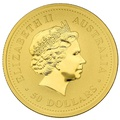 2006 Perth Mint Half Ounce Year of the Dog Gold Coin