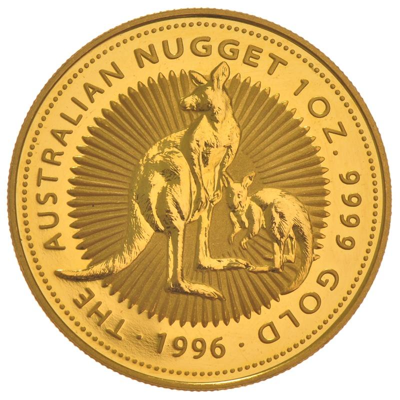1996 1oz Gold Australian Nugget