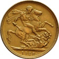 1928 Gold Sovereign - King George V - M