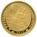 2010 Quarter Ounce Proof Britannia Gold Coin